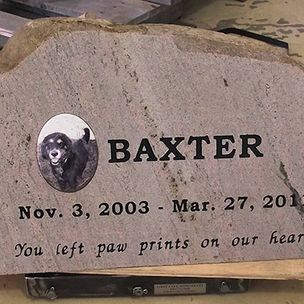 Remember Your Pets with Custom Memorials